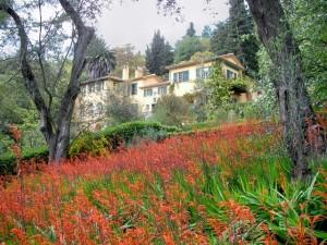 Serre de la Madonne: Blick auf das Anwesen