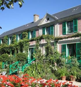 Das Wohnhaus Claude Monets