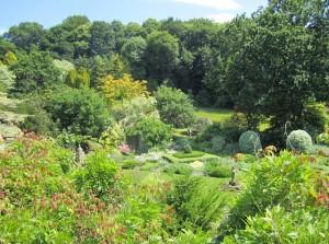 Blick in den Garten der vier Quadrate