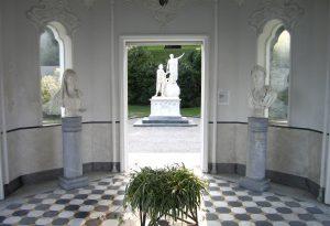 Im Park der Villa Melzi